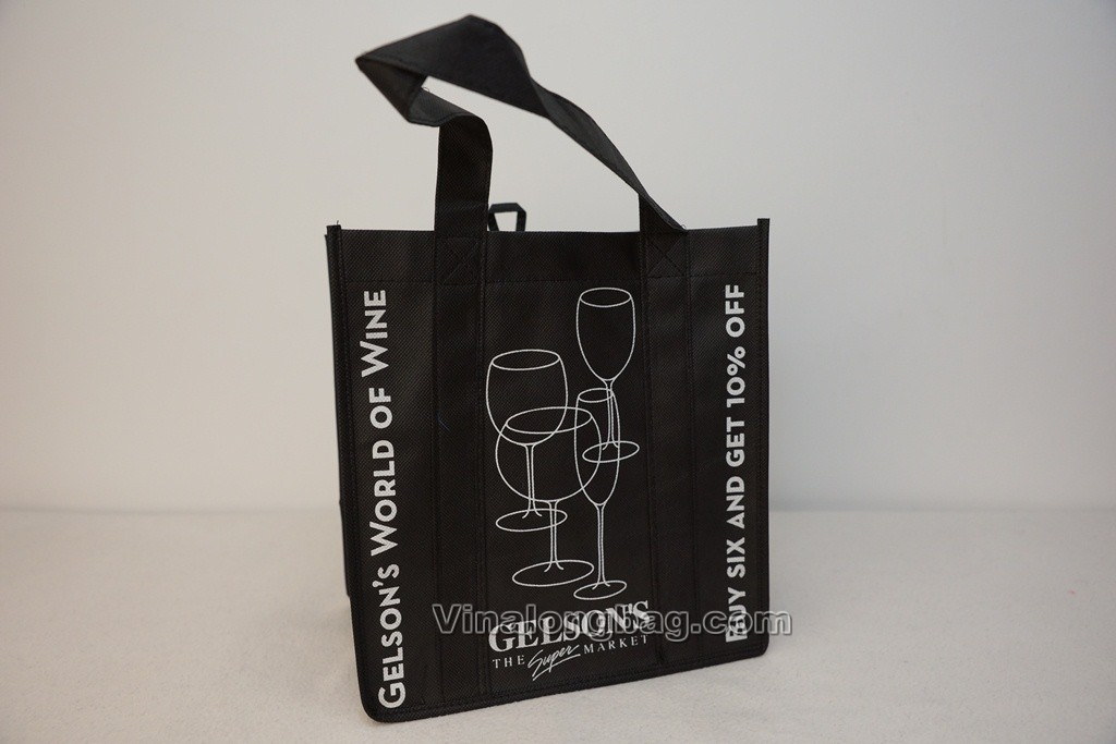 Wine bag made from PP non woven