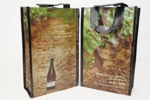 Bottle bag Non woven laminated 4 bottles (3)