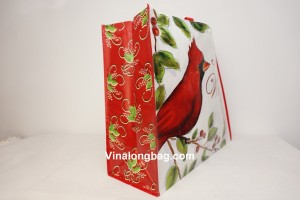 Non Woven laminated with X sewing inside 2