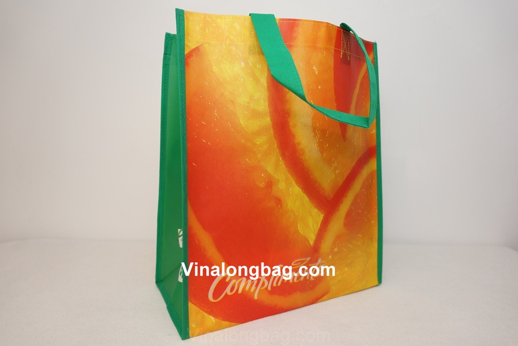 PP non woven bag with matte lamination