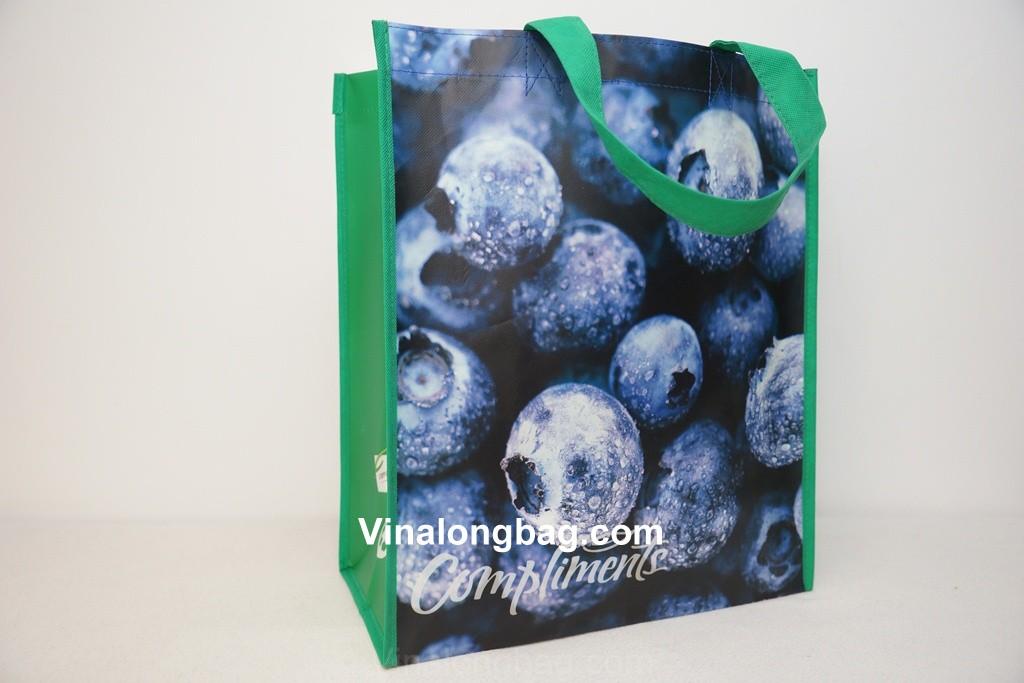 PP non woven bag with BOPP lamination