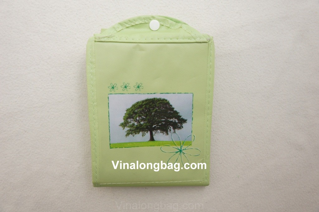 Foldale PP non woven bag with BOPP lamination